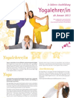 2-Jahres-Yogalehrerausbildung 2013