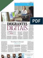 Folha - 20111003 - Imigrantes digitais