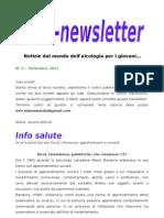 Alcolnewsletter settembre 2011
