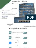 Slides Sobre Configuração de Switches e VLANs