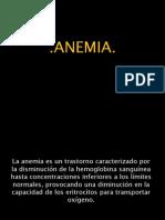 Presentación Anemia