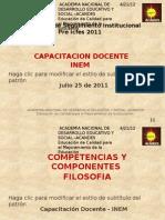 Componentes y Competencias FILOSOFIA[1]