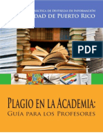 Plagio en La Academia - Guia para los Profesores