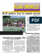Sports Sumilang Newsletter