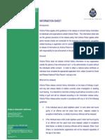 Info Sheet Info Release Policy Jul 11
