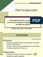 Mesas Macro Region Ales 1
