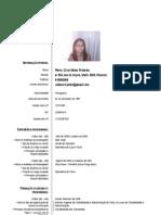 Curricullum Vitae - Cátia Pinto, 2080178