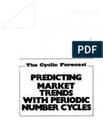 Carl Futia - Predicting Market Trends With Periodic Number Cycles
