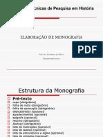 Modelo de Monografia - Apresentacao Grafica