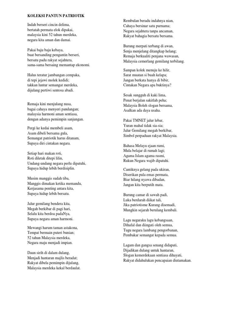 Contoh Puisi Hari Kemerdekaan Malaysia Brad Erva Doce Info