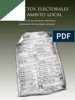 Conflictos electorales en el ámbito local
