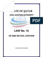 Civil Aviation Law No 15[3]