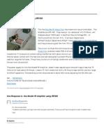 1kw Mosfet Rf Amplifier Using IRF450 _ Rf Amplifier