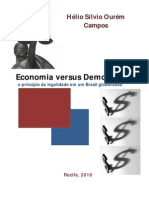 eBook Economia Versus Democracia HelioCampos