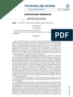Ley 22.2011 Residuos y Suelos contaminados