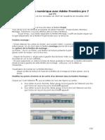 Tutoriel Adobe Premiere7b