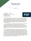 Letter to FEMA From Senators