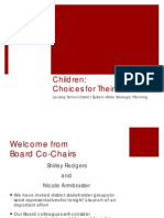 Lansing Board of Education Meeting 9-26-11