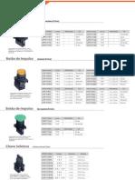 botões sinalizadores e seletora alterado