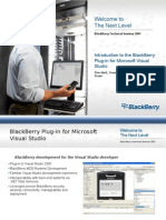 Introduction to the Blackberry Plug-In for Microsoft Visual Studio