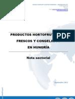 Nota sectorial - Hortofrutícolas en Hungría SEPT 2011