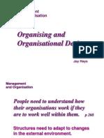 Organ is Ing and Organisational Design