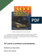 301 Provas e Profecias Surpreendentes - Mostrando Que Deus Existe