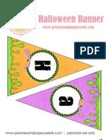 Halloween - Peonies & Poppy Seeds