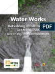 Water Works; Rebuilding Infrastructure, Creating Jobs, Greening the Environment