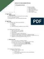 Principles of Drug Administration
