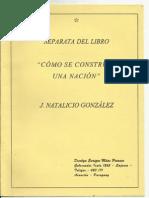 Separata del Libro - Como se Construye una Nación  - J.Natalicio González - PortalGuarani - Paraguay