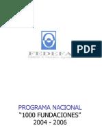 Programa 1000 Fundaciones
