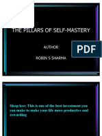The Pillars of Self Mastery