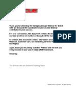 Take-Away Managing Groups R8