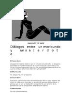Sade, Marques de - Dialogos Entre Un Sacerdote y Un Moribundo
