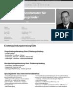Unternehmensberater Köln | Existenzgründer - Existenzgründung | Unternehmensberatung MARKUS TONN ®