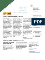 October Newsletter 10-3-2011DG