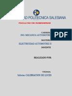 Informe de Calibracion de Luces2