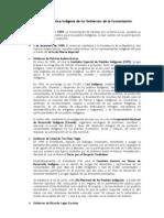 Hitos de La Poltica Indgena 1992 - 2004