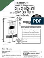 CO Alarm User Manual 900-0113