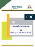 NEWSLETTER nº 1 - Comissão Distrital de Serviços Profissionais