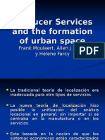 Producer Services and the Formation of Urban Space[1]