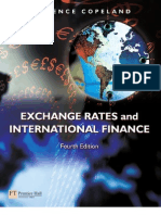 Exchange Rates and International Finance, 4th
