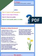 Daffodils Lesson 1