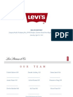 Project Levi's Mkt