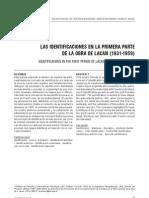 Mazzuca, Roberto - Las Identificaciones en La Primera Parte de La Obra de Lacan (1931-1959) [2006]