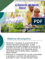 Programa Nacional Del Adulto Mayor