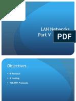 LAN - Part v TCP-IP Principles Master