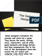The Games Designer