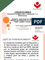 FUNDACOLOMBIA PRESENTACIÒN INSTITUCIONAL 2011